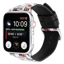 Load image into Gallery viewer, Hello Kitty Style Leather Compatible With Apple Watch iWatch 38mm 40mm 42mm 44mm Band Strap For iWatch Series 4/3/2/1 - Casememe.com
