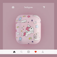 Load image into Gallery viewer, Unicorn Pink Hard Protective Shockproof Case For Apple Airpods 1 & 2 - Casememe.com