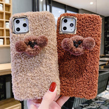 Load image into Gallery viewer, Poodle Puppy Furry Shockproof Protective Designer iPhone Case For iPhone SE 11 Pro Max X XS Max XR 7 8 Plus - Casememe.com