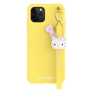 Hello Kitty Style Keychain Shockproof Protective Designer iPhone Case For iPhone SE 11 Pro Max X XS Max XR 7 8 Plus - Casememe.com
