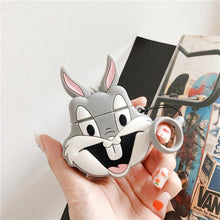 Load image into Gallery viewer, Bugs Bunny Style Silicone Protective Case For Apple Airpods 1 & 2 - Casememe.com
