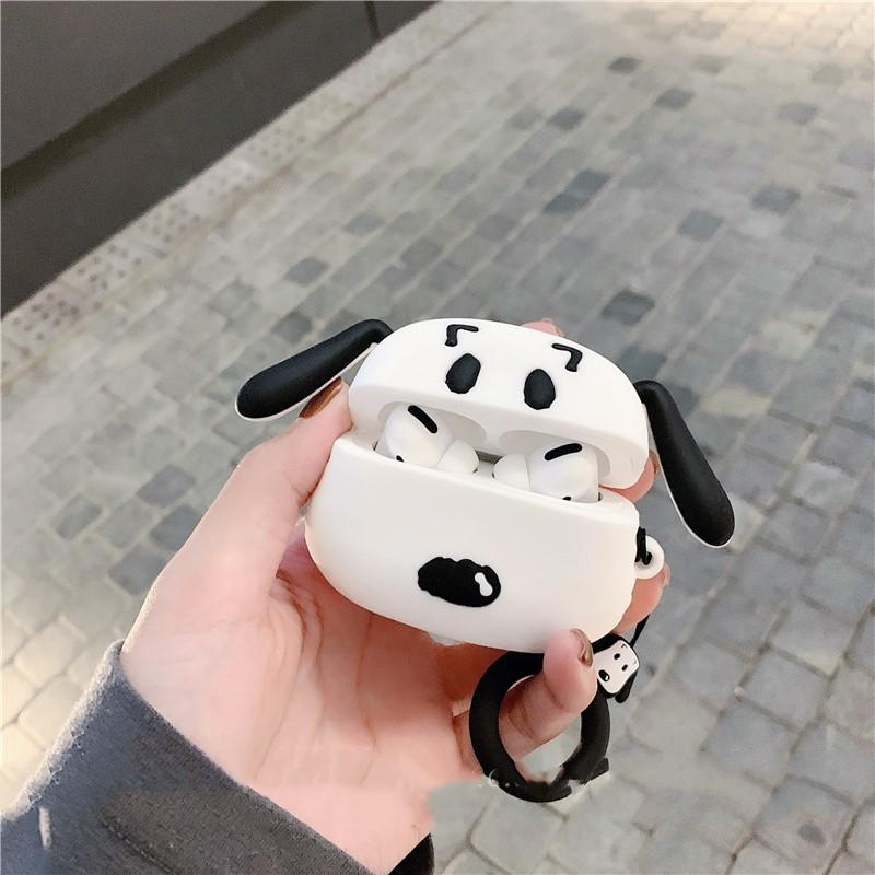 Snoopy Style Charlie Silicone Protective Designer Case For Apple Airpods Pro - Casememe.com