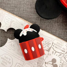 Load image into Gallery viewer, Minnie Mouse Style Ice Cream Silicone Protective Case For Apple Airpods 1 & 2 - Casememe.com