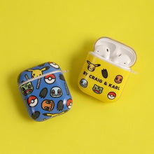 Load image into Gallery viewer, Pikachu Style Glossy Hard Protective Case For Apple Airpods 1 & 2 - Casememe.com