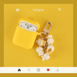Popcorn Silicone Protective Shockproof Case For Apple Airpods 1 & 2 - Casememe.com