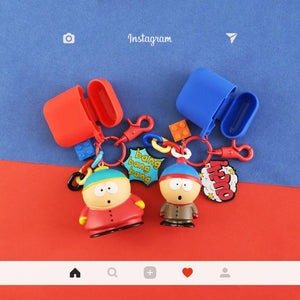 South Park Kenny Stan Kyle Eric Silicone Protective Shockproof Case For Apple Airpods 1 & 2 - Casememe.com