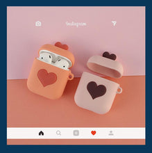 Load image into Gallery viewer, Cute Heart Silicone Protective Shockproof Case For Apple Airpods 1 & 2 - Casememe.com