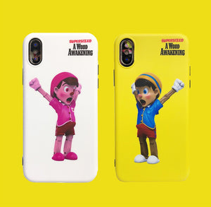 Pinocchio Style Meme Silicone Shockproof Protective Designer iPhone Case For iPhone SE 11 Pro Max X XS Max XR 7 8 Plus - Casememe.com