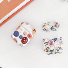 Load image into Gallery viewer, Smile Snoopy Simpsons Clear Hard Protective Shockproof Case For Apple Airpods 1 & 2 - Casememe.com