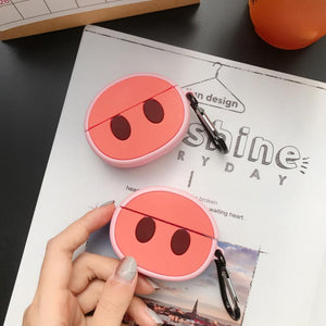 Piggy Nose Silicone Protective Case For Apple Airpods Pro - Casememe.com