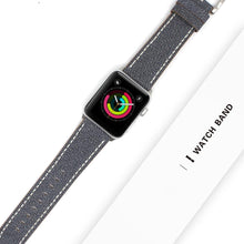 Load image into Gallery viewer, Blue Jeans Leather Modern Compatible With Apple Watch 38mm 40mm 42mm 44mm Band Strap For iWatch Series 4/3/2/1 - Casememe.com
