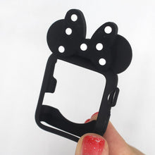 Load image into Gallery viewer, Disney Minnie Style Compatible With Apple Watch Silicone Case 38mm 40mm 42mm 44mm For iWatch Series 4/3/2/1 - Casememe.com