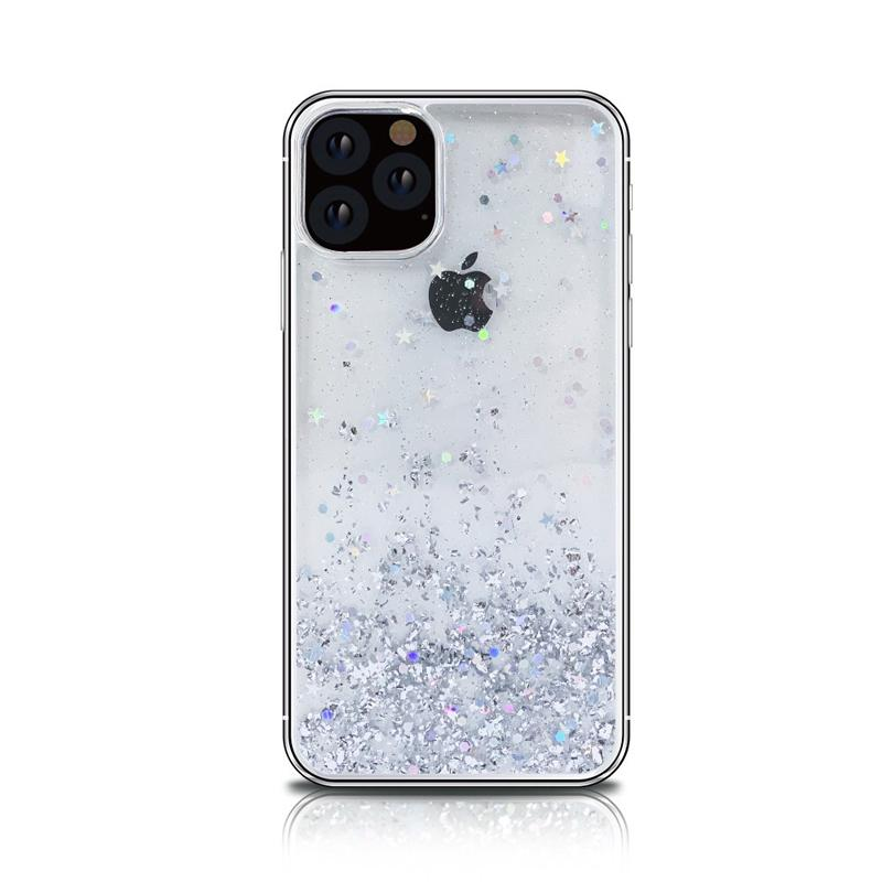 Transparent Quicksand Glitter Designer iPhone Case For iPhone SE 11 Pro Max X XS XS Max XR 7 8 Plus - Casememe.com