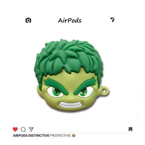 Marvel Style Hulk Silicone Protective Case For Apple Airpods 1 & 2 - Casememe.com
