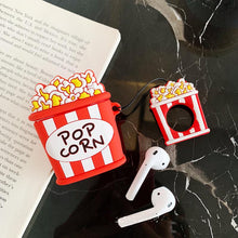 Load image into Gallery viewer, McDonald's MCD Popcorn Silicone Protective Shockproof Case For Apple Airpods 1 & 2 - Casememe.com