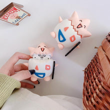 Load image into Gallery viewer, Cute Togepi Silicone Protective Case For Apple Airpods 1 & 2 - Casememe.com