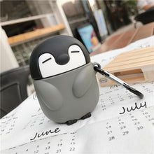 Load image into Gallery viewer, Penguin Silicone Protective Case For Apple Airpods Pro - Casememe.com