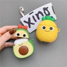 Load image into Gallery viewer, Cute Pineapple Silicone Protective Case For Apple Airpods 1 & 2 - Casememe.com