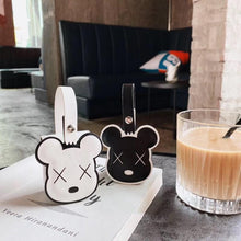 Load image into Gallery viewer, Kaws Style Luxury Leather Protective Case For Apple Airpods 1 & 2 - Casememe.com