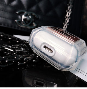 Miss Dior Style Perfume Clear Protective Shockproof Case For Apple Airpods 1 & 2 - Casememe.com