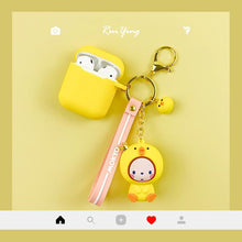 Load image into Gallery viewer, Cute Mokyo Style Silicone Protective Case For Apple Airpods 1 & 2 - Casememe.com