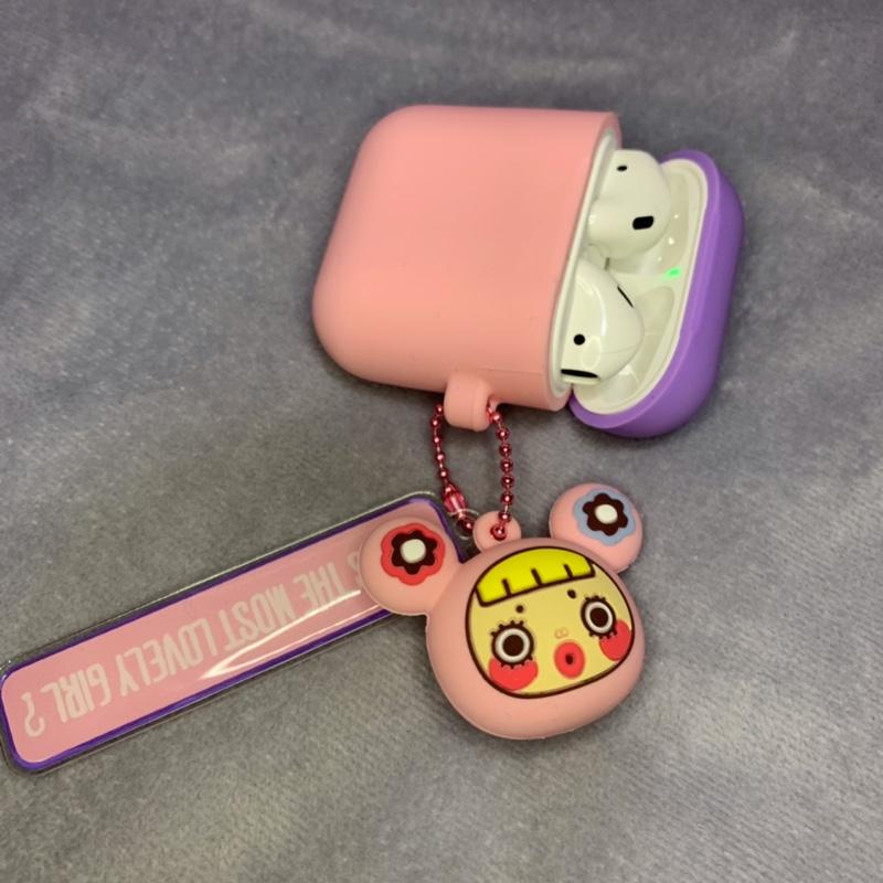 Cute Japanese Doll Macaroon Silicone Protective Shockproof Case For Apple Airpods 1 & 2 - Casememe.com