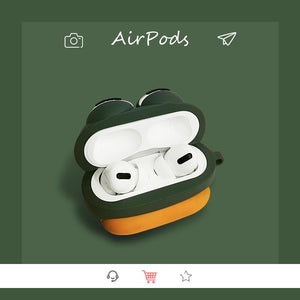 Sad Frog Silicone Protective Case For Apple Airpods Pro - Casememe.com