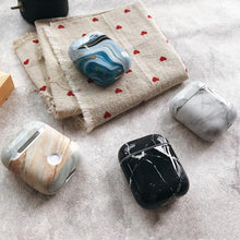 Load image into Gallery viewer, Fancy Marble Hard Protective Shockproof Case For Apple Airpods 1 & 2 - Casememe.com
