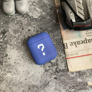 Question Mark Silicone Protective Case For Apple Airpods Pro - Casememe.com