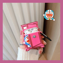 Load image into Gallery viewer, Doraemon Style Box Silicone Square Protective Case For Apple Airpods Pro - Casememe.com