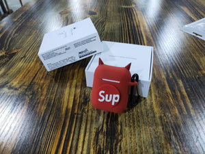 Supreme Style Devil Silicone Protective Shockproof Case For Apple Airpods 1 & 2 - Casememe.com
