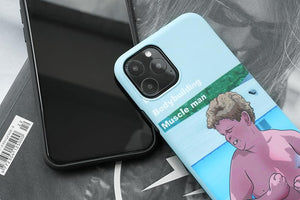 Muscle Funny Boy Silicone Shockproof Protective Designer iPhone Case For iPhone SE 11 Pro Max X XS Max XR 7 8 Plus - Casememe.com