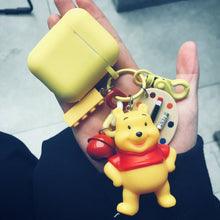 Load image into Gallery viewer, Winnie The Pooh Painter Silicone Protective Shockproof Case For Apple Airpods 1 & 2 - Casememe.com