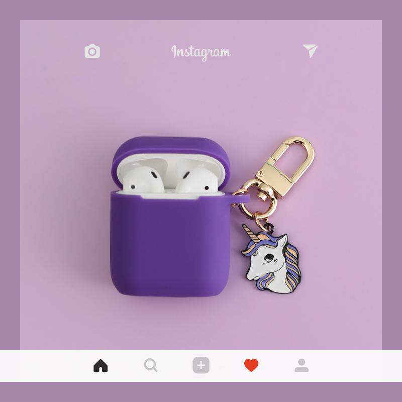 Dreamy Unicorn Silicone Protective Shockproof Case For Apple Airpods 1 & 2 - Casememe.com