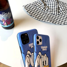 Load image into Gallery viewer, Donald Duck Style Glossy Silicone Shockproof Protective Designer iPhone Case For iPhone SE 11 Pro Max X XS Max XR 7 8 Plus - Casememe.com