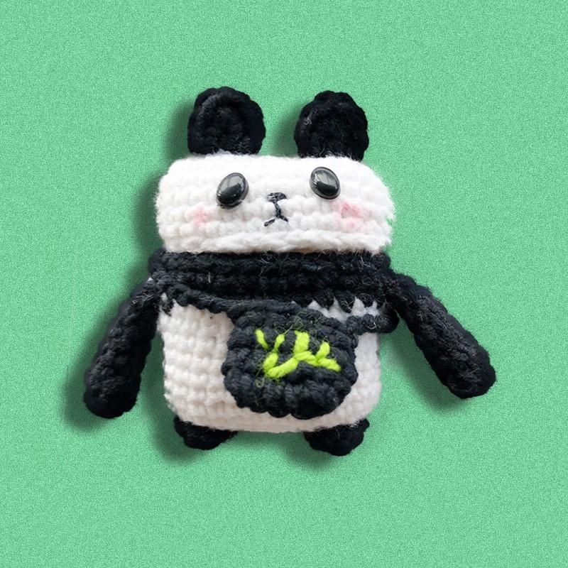 Knit Panda Protective Case For Apple Airpods 1 & 2 - Casememe.com