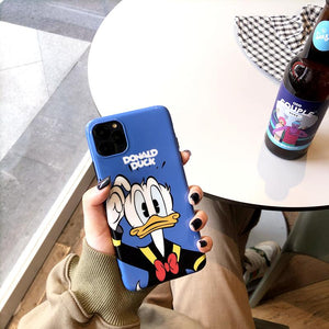 Donald Duck Style Glossy Silicone Shockproof Protective Designer iPhone Case For iPhone SE 11 Pro Max X XS Max XR 7 8 Plus - Casememe.com