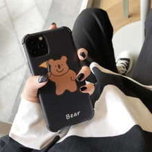 Load image into Gallery viewer, Bear Corner Protection Shockproof Protective Designer iPhone Case For iPhone SE 11 Pro Max X XS Max XR 7 8 Plus - Casememe.com