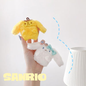 Sanrio Style Furry Warm Protective Case For Apple Airpods 1 & 2 - Casememe.com
