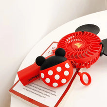 Load image into Gallery viewer, Disney Style Mickey Minnie Mouse Round Silicone Protective Shockproof Case For Apple Airpods 1 & 2 - Casememe.com
