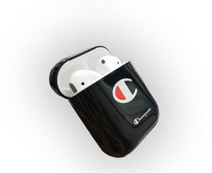 Champion Style Street Fashion Classic Logo Protective Shockproof Case For Apple Airpods 1 & 2 - Casememe.com