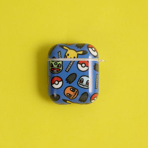 Pikachu Style Glossy Hard Protective Case For Apple Airpods 1 & 2 - Casememe.com