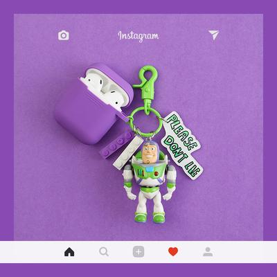 Toy Story Buzz Lightyear Silicone Protective Shockproof Case For Apple Airpods 1 & 2 - Casememe.com
