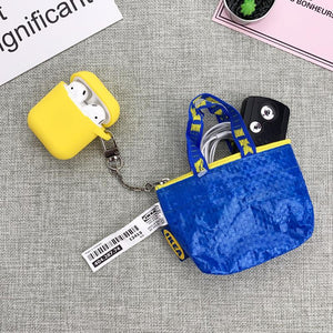 IKEA Coin Purse Silicone Protective Shockproof Case For Apple Airpods 1 & 2 - Casememe.com