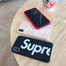 Load image into Gallery viewer, Supreme Style Silicone Logo Designer iPhone Case For iPhone SE 11 PRO MAX X XS XS Max XR 7 8 Plus - Casememe.com
