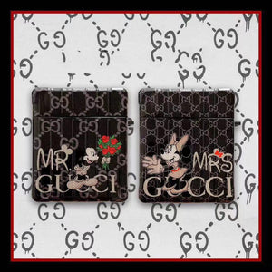 GUCCI x Mickey Minnie Mouse Style Protective Case For Apple Airpods 1 & 2 - Casememe.com