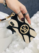 Load image into Gallery viewer, Louis Vuitton Style Louise Phone Holder Strap Monogram Shockproof Protective Designer iPhone Case For iPhone 12 SE 11 Pro Max X XS Max XR 7 8 Plus - Casememe.com