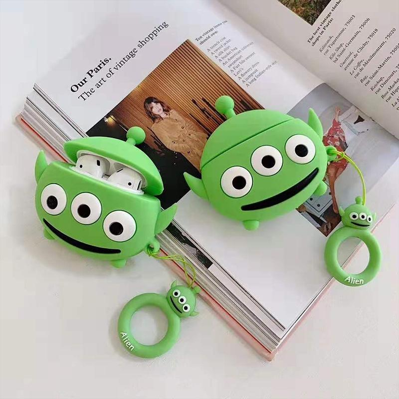 Monster University Style Silicone Designer Protective Case For Apple Airpods Pro - Casememe.com