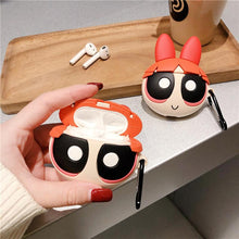 Load image into Gallery viewer, The Powerpuff Girls Style Silicone Protective Case For Apple Airpods 1 & 2 - Casememe.com