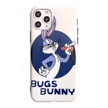Load image into Gallery viewer, Bugs Bunny Style Silicone Shockproof Protective Designer iPhone Case For iPhone SE 11 Pro Max X XS Max XR 7 8 Plus - Casememe.com